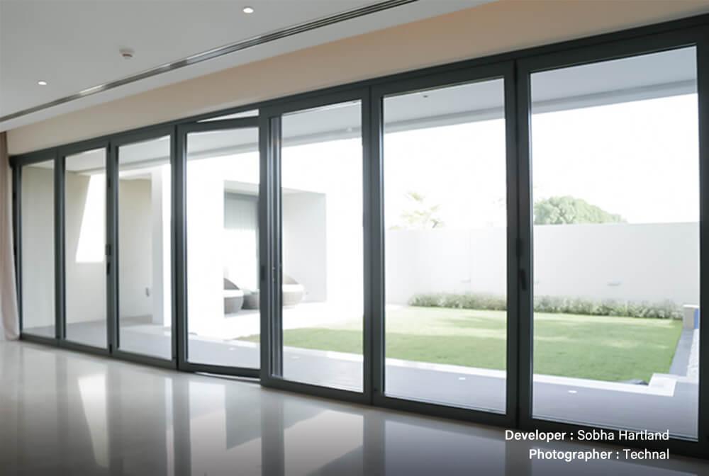 Interior Bi-Folding Glass Door Suppliers in UAE, Bahrain